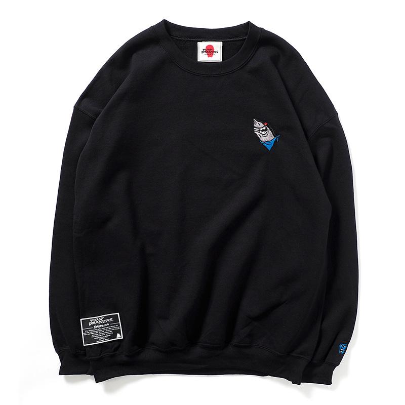 【予約】鮫人刺繍トレーナー