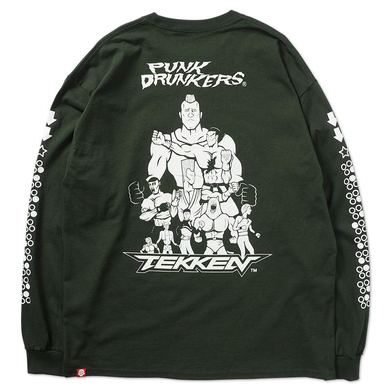 【予約】[PDSxTEKKEN]鉄拳ドランカーズ ロンTEE