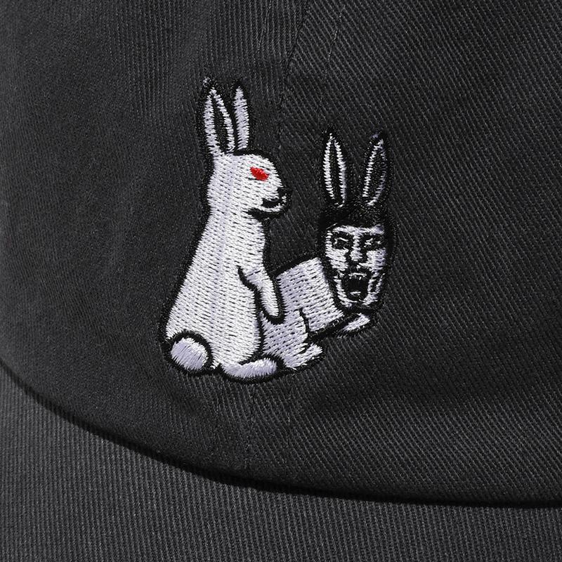 [PDSx#FR2]ウサギとアイツ仲良しCAP / CHARCOAL
