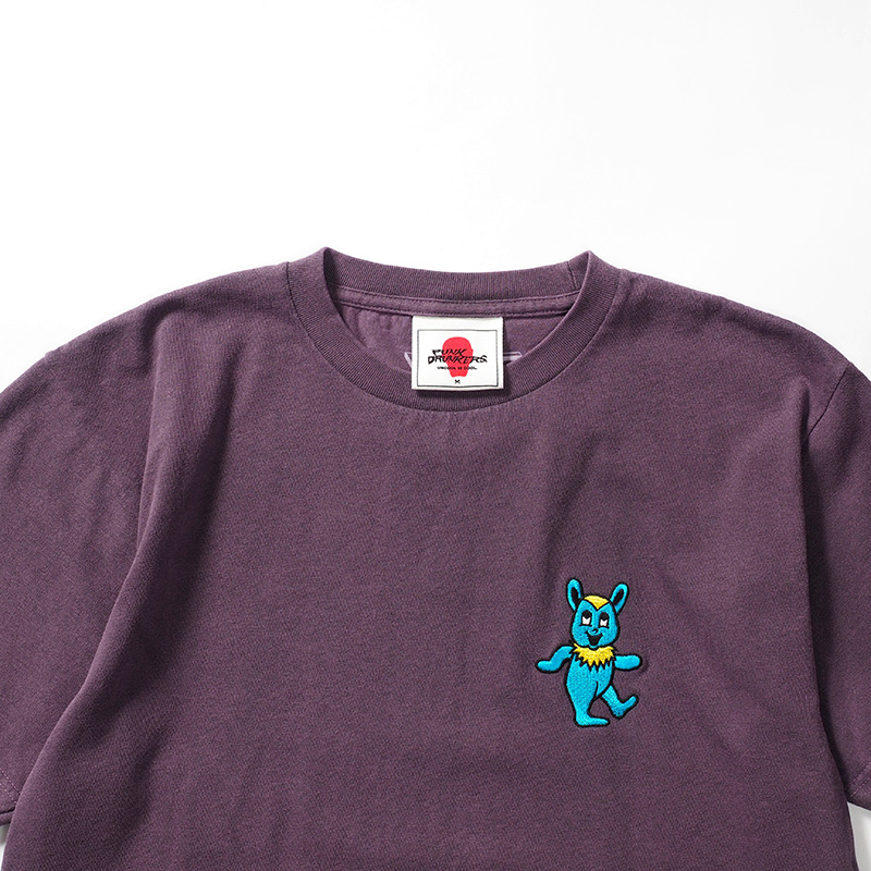 【予約】グレイトフルマッポ刺繍TEE