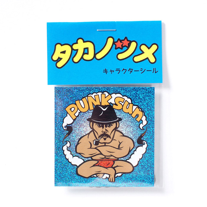 【鷹の爪限定】鷹の爪キャラクターシール / PUNKsun