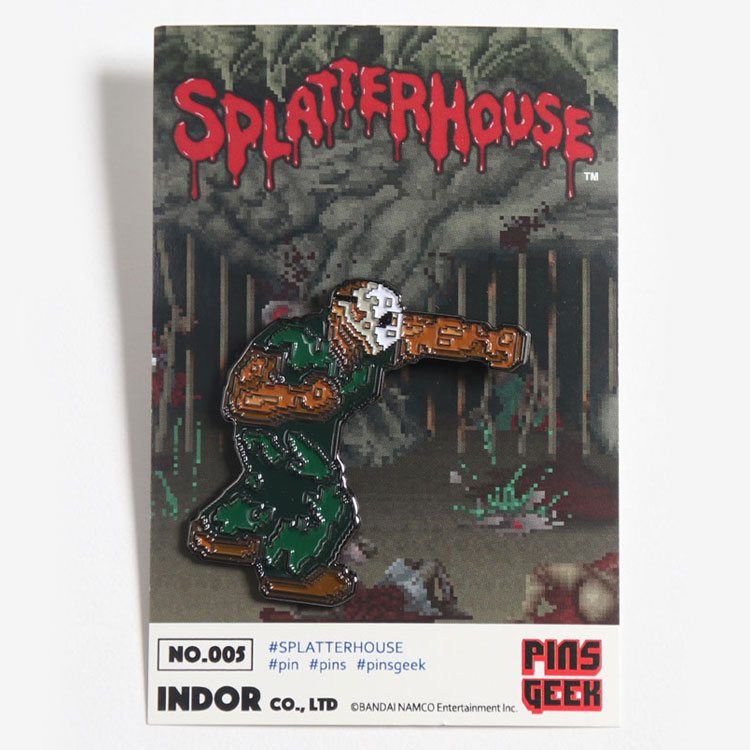 [ANIPPON] ピンズ / SPLATTER HOUSE
