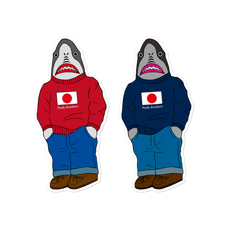 ステッカー / 鮫人