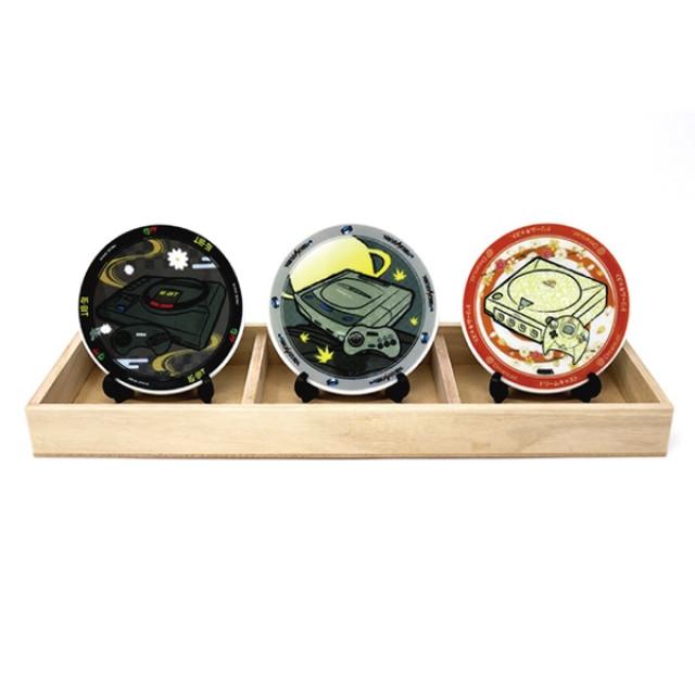 [ANIPPON] 飾り皿3種セット / セガハード