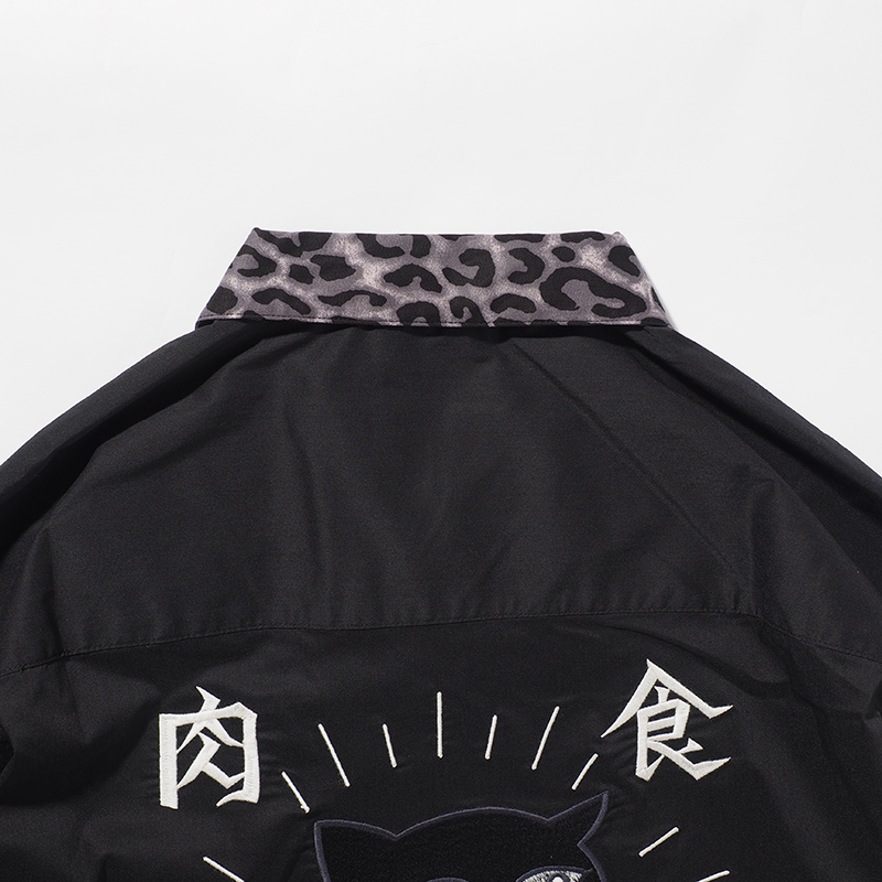 【予約・6月入荷】豹シャツ