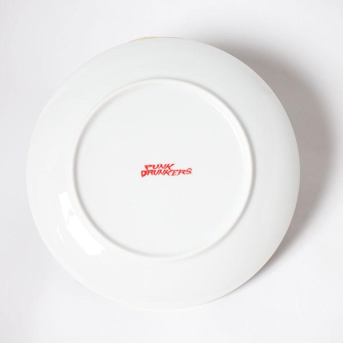 ぐるぐるのお皿