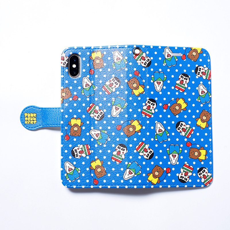 【受注】手帳型スマホケース / ファンシー (大きいサイズ)