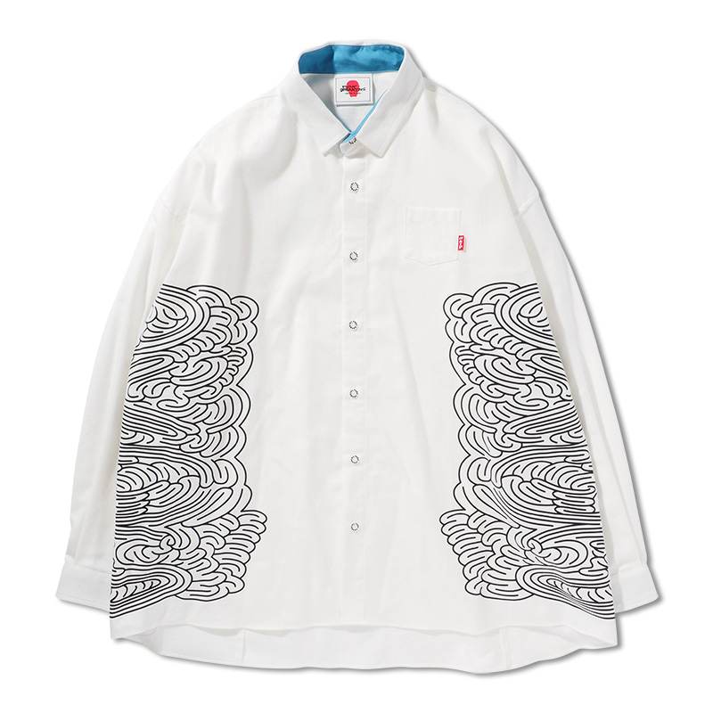 迷いシャツ