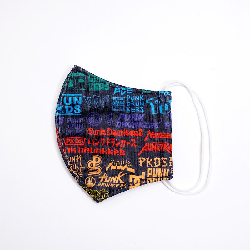 PDS総柄マスク / 電気屋