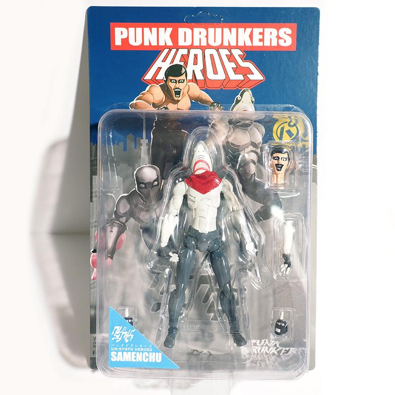 [PDSx1000toys]PUNKDRUNKERS.HEROESフィギュア / 鮫人