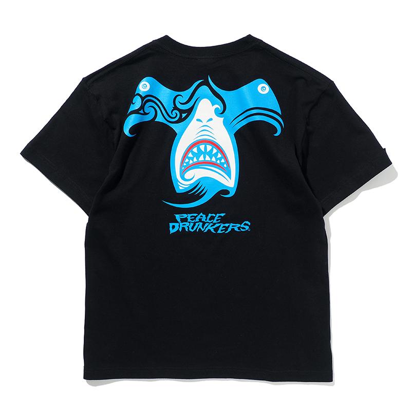 【予約・6月入荷】[PDSxPEACEMAKER]ハンマーヘッド鮫人TEE