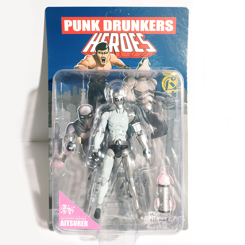 [PDSx1000toys]PUNKDRUNKERS.HEROESフィギュア / アイツラー