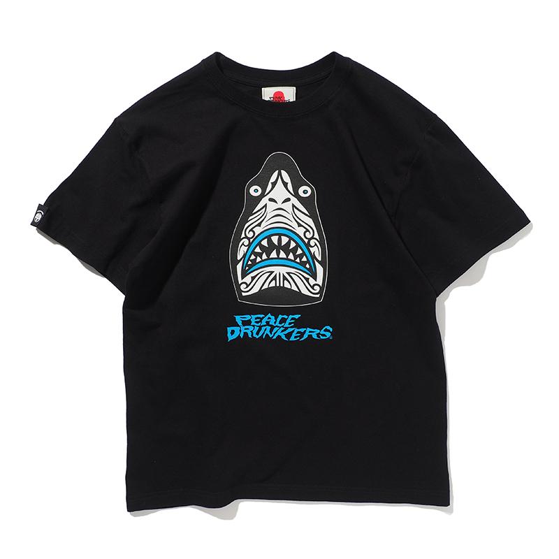【予約・6月入荷】[PDSxPEACEMAKER]TRIBAL鮫人TEE
