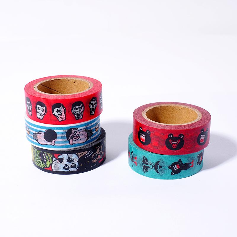 OJマスキングテープ / おーさん顔