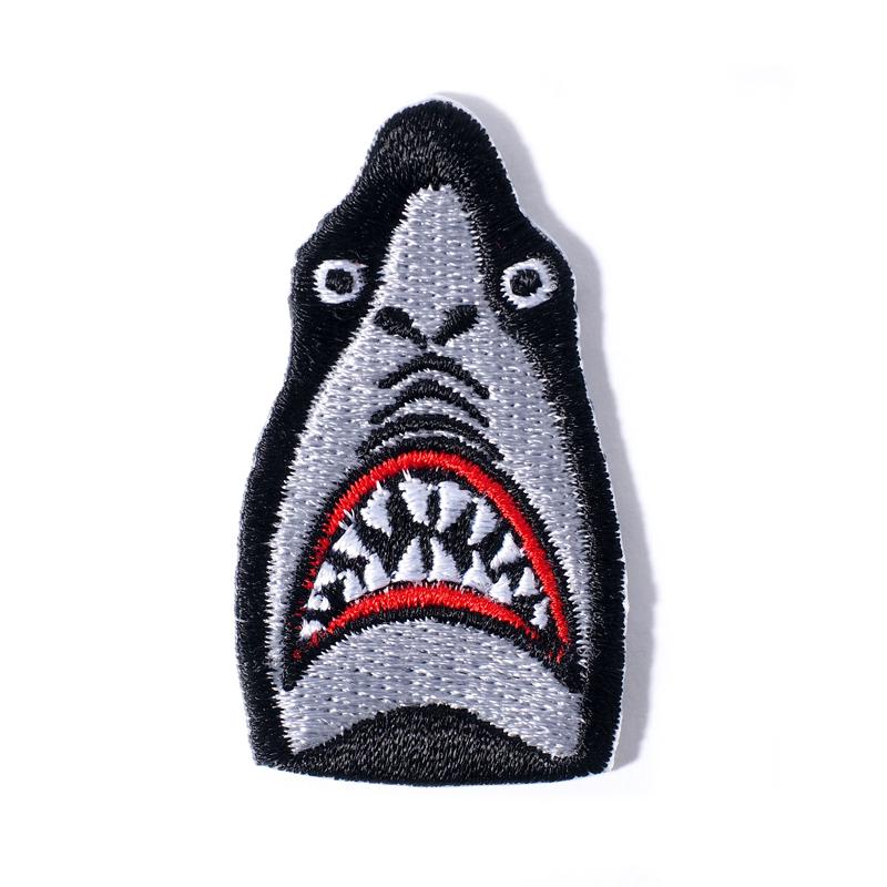 【鷹の爪限定】ワッペン / 鮫人