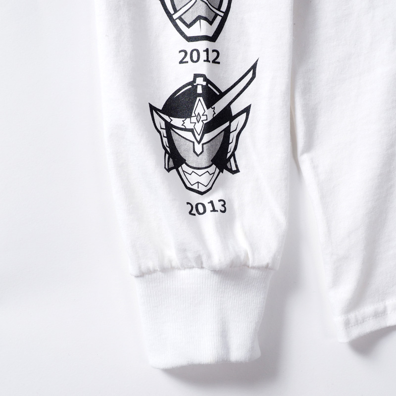 [PDSx仮面ライダー]平成ライダー顔ロンTEE(2009〜2018ver.)