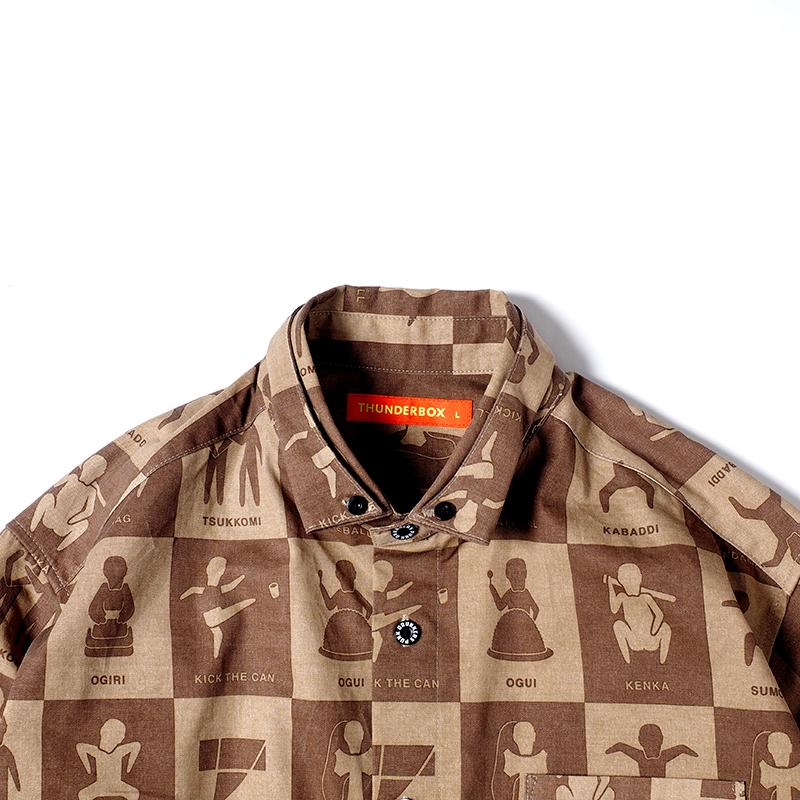 [PDSxTHUNDERBOX]ピクトグラムシャツ