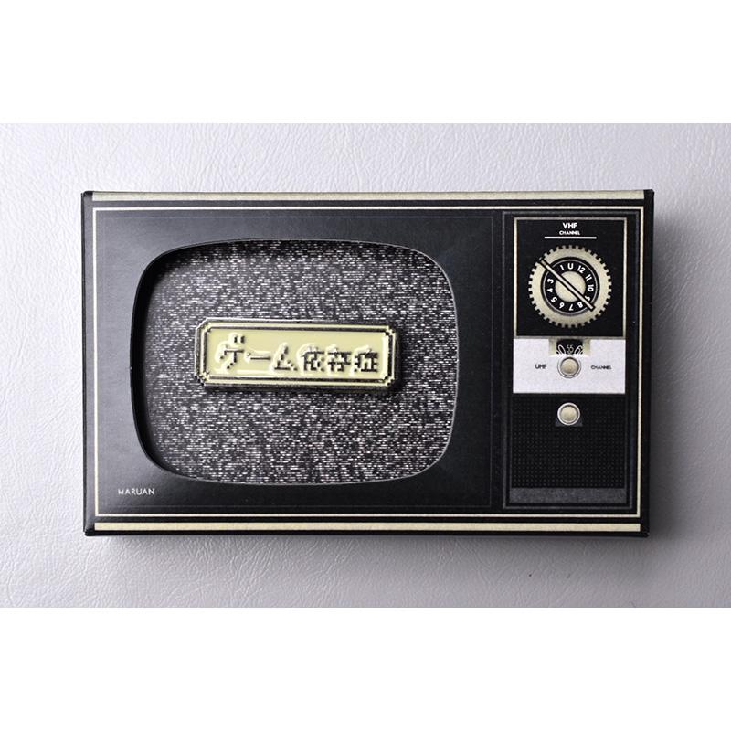 [マルアン商会]ピンズ / ゲーム依存症バッチ
