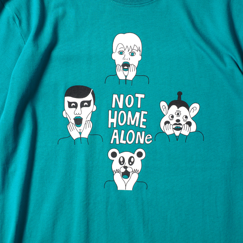 NOT HOME ALONE.TEE
