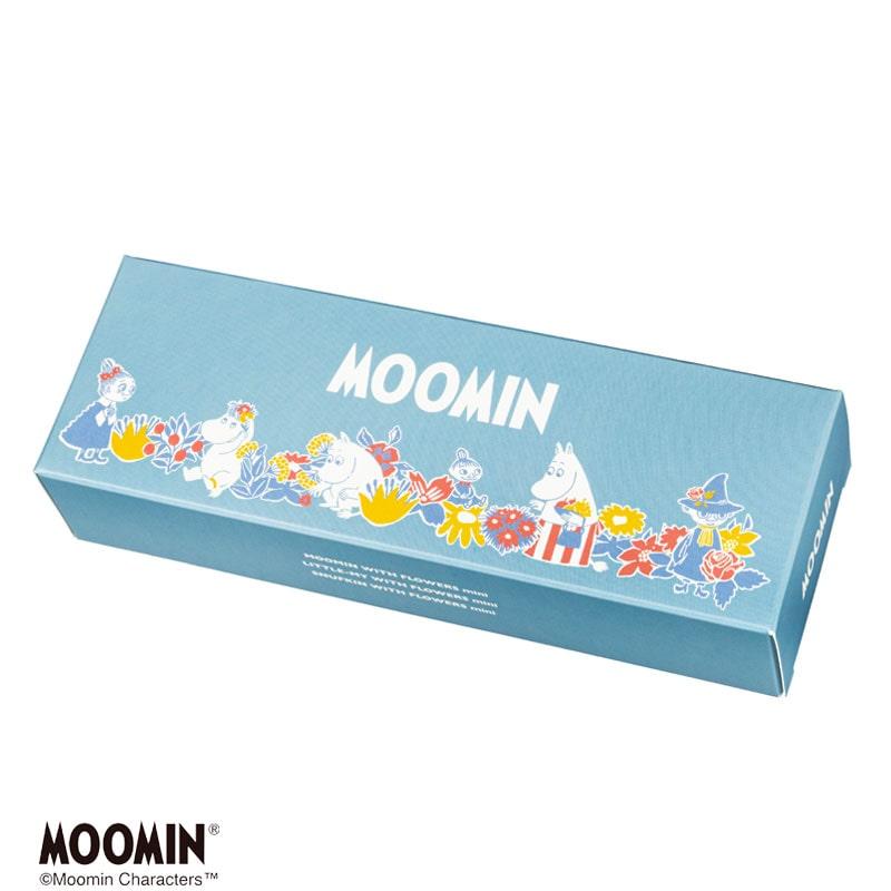 ムーミンデザインミニセット -フラワーズ- /スチームクリーム限定デザイン