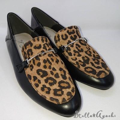 Leopardビットローファー