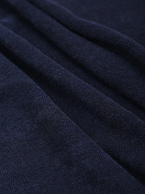 レディース クールパイルポロシャツ ネイビー