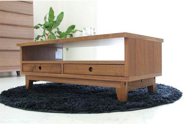 センターテーブル リビングテーブル 北欧 モダン ミッドセンチュリー ウォールナット SOFEE102