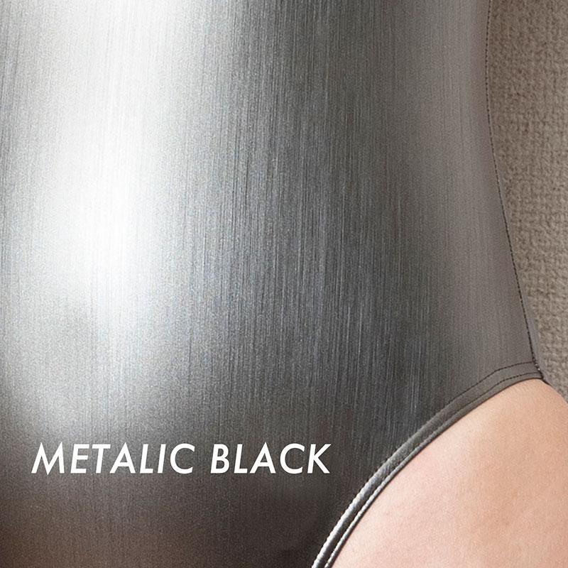 REALISE(リアライズ)【N-996HL_big】メタリックフロントジッパースイムスーツ Bigサイズ【送料無料】