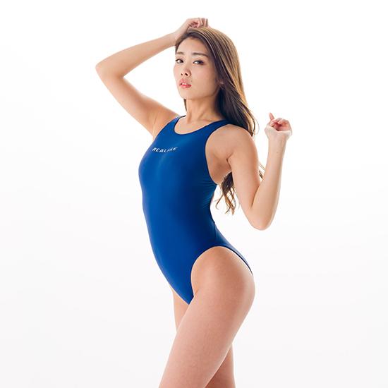 REALISE(リアライズ)【N-111】競泳水着 コスチューム ワンピーススイムスーツ | Circular hole swimsuit(Wカレンダー加工) 【送料無料】