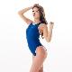 REALISE(リアライズ)【N-111big】競泳水着 コスチューム ワンピーススイムスーツ | Circular hole swimsuit(Wカレンダー加工) 4Lサイズ 【送料無料】