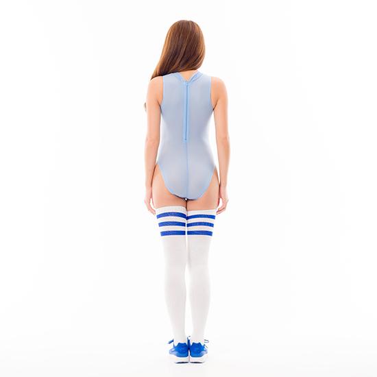 REALISE(リアライズ)【N-2020】シースルー素材 ハイネックボディスーツ |ノーマルバック(イタリアンシアー素材)