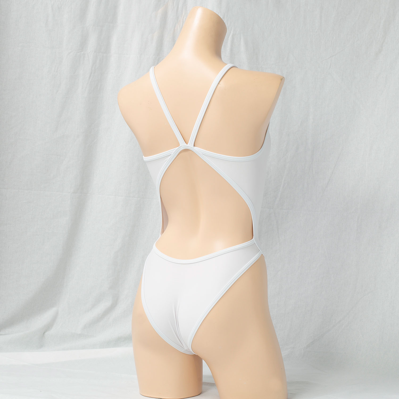 REALISE(リアライズ)【N-0331】競泳水着 コスチューム トライアングルバックスイムスーツ / Triangle Back Swimsuit(Wカレンダー加工) 【送料無料】
