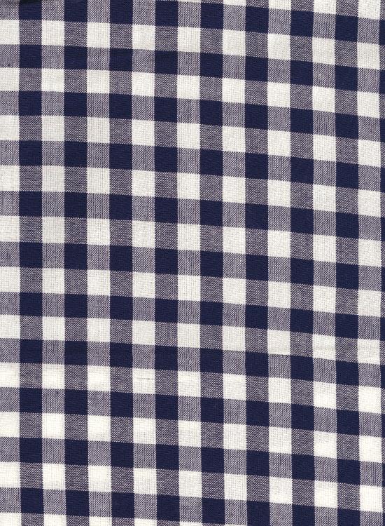 久留米絣 もんぺ(ギンガムチェック/ブルー)