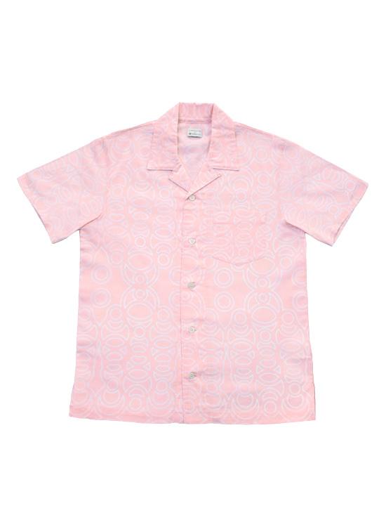 アロハシャツ(Ren・薄桃)