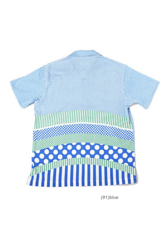アロハシャツ (Rock・ブルー)
