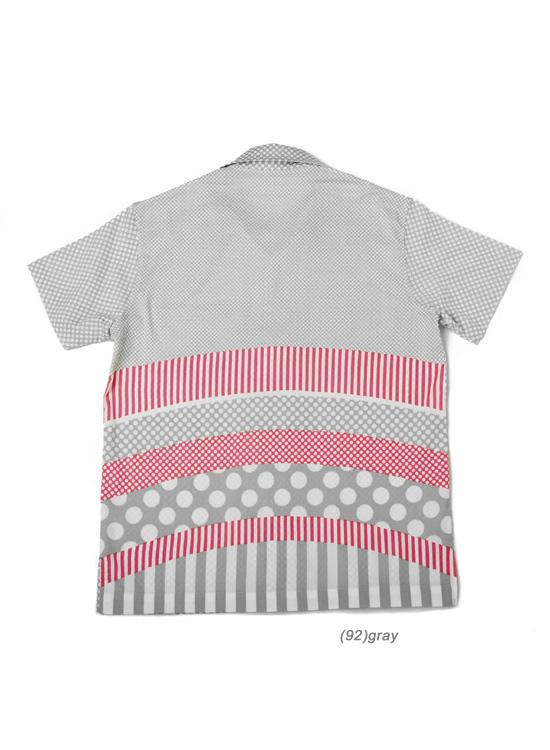 アロハシャツ (Rock・グレー)