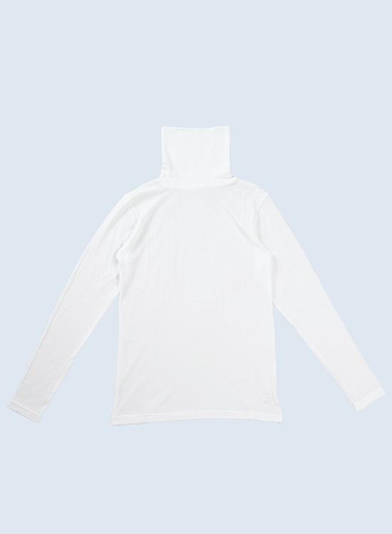タートルネックシャツ(オフ)