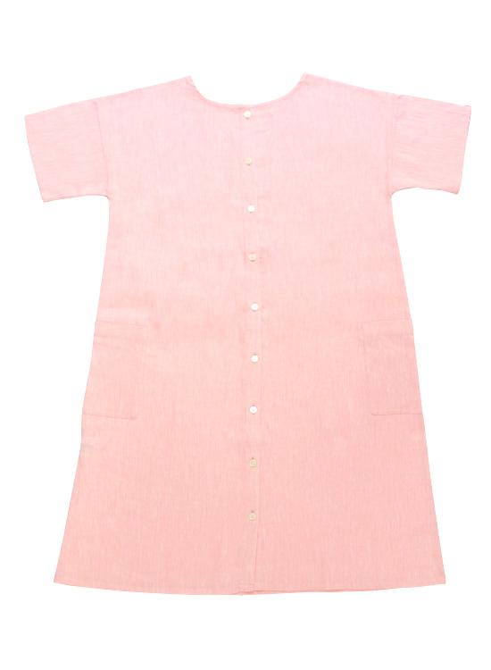 【50%OFF】前後着用できるワンピース(ピンク)