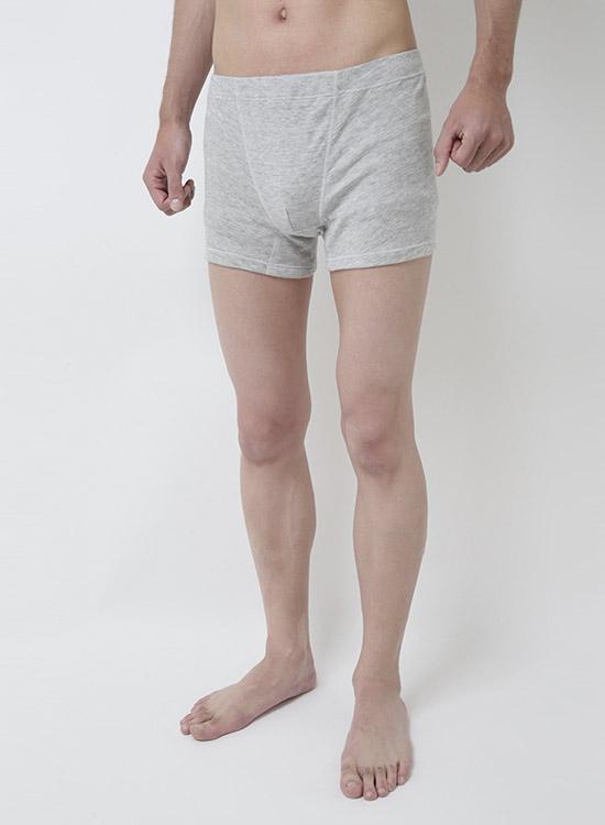 スーピマOG メンズボクサーパンツ(グレー)