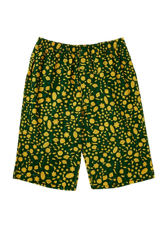 コラボ ショート ステテコ(黄色い花)