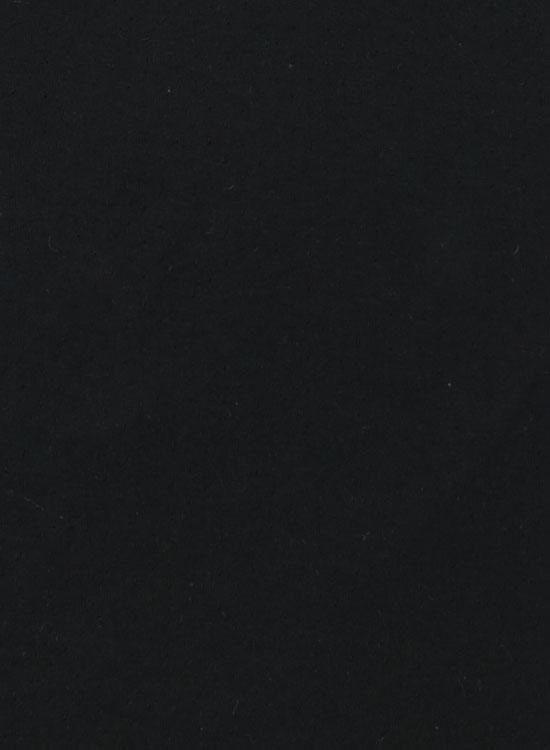 スーピマOG ラウンドネック長袖カットソー(ブラック)