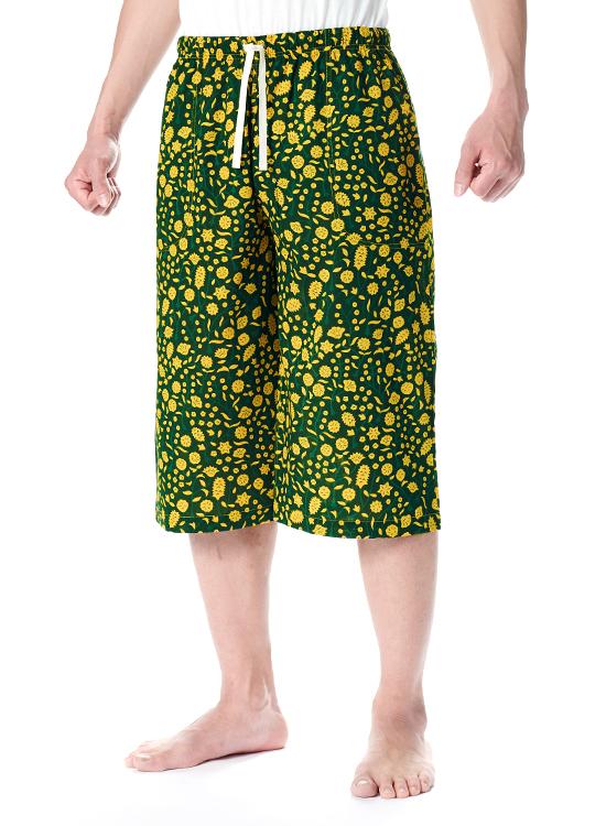 レディース ステテコ(黄色い花)