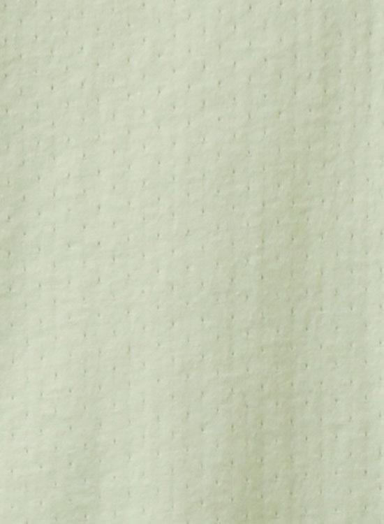 ハイネック長袖カットソー(薄グリーン)
