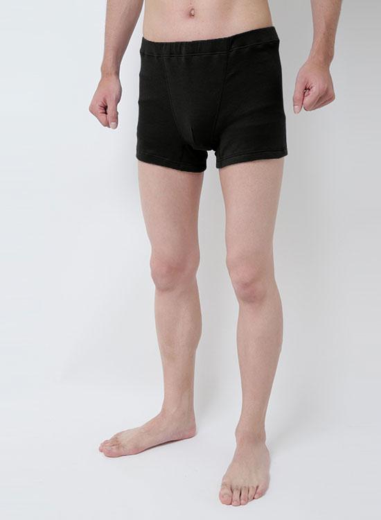 スーピマOG メンズボクサーパンツ(ブラック)