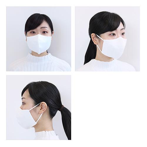 繰り返し洗って使える 立体布マスク