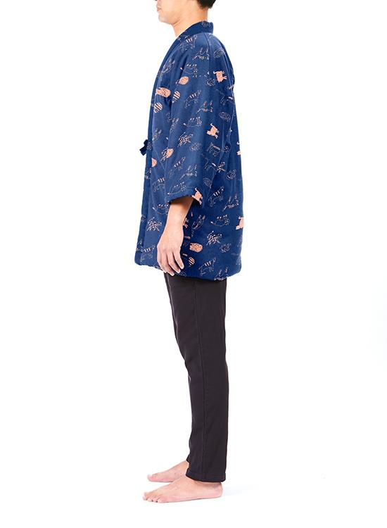 宮田織物×steteco.com 袢纏 - はんてん(のら)