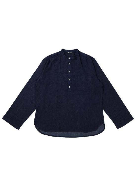 トラベルデニムシャツ