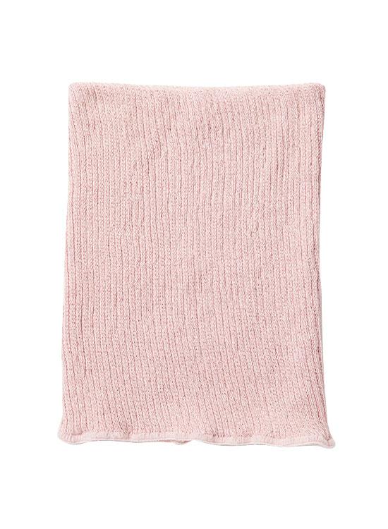 絹と炭のウエストウォーマー(マーブルピンク)