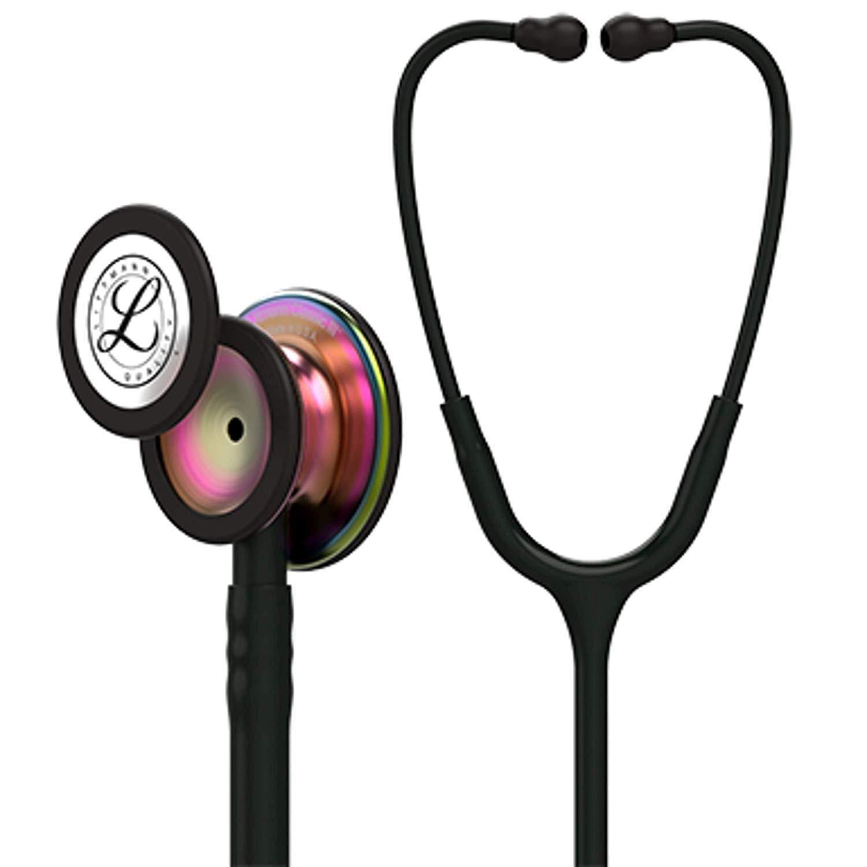 リットマン 聴診器 クラシック� ブラック (レインボウ加工)