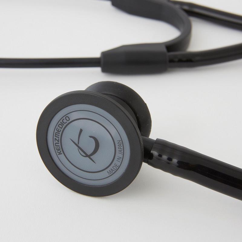 ケンツメディコ 聴診器 ドクターフォネットNEO �188�ブラックエディション